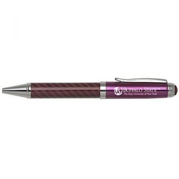 Buffalo State University- The State University of New York-Carbon Fiber Mechanical Pencil-Pink
