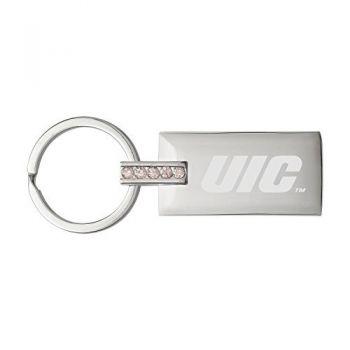 University of Illinois at Chicago-Jeweled Key Tag