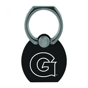 Georgetown University|Multi-Functional Phone Stand Tech Ring|Black