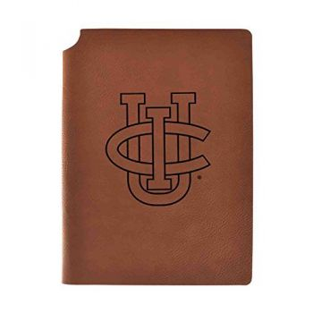 University of California, Irvine Velour Journal with Pen Holder|Carbon Etched|Officially Licensed Collegiate Journal|