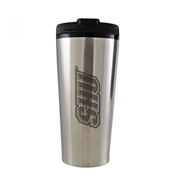 Sacred Heart University -16 oz. Travel Mug Tumbler-Silver