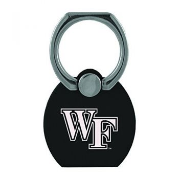 Wake Forest University|Multi-Functional Phone Stand Tech Ring|Black