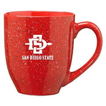 San Diego State University - 16-ounce Ceramic Coffee Mug - Red