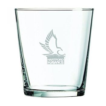 University of Hartford-13 oz. Rocks Glass