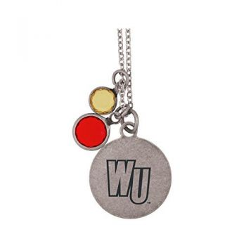 Winthrop University -Frankie Tyler by LXG Charmed Necklace