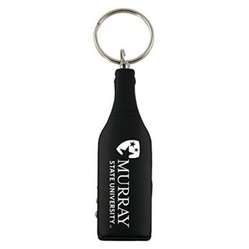 Murray State University-Wine Shaped Bottle Opener-Black