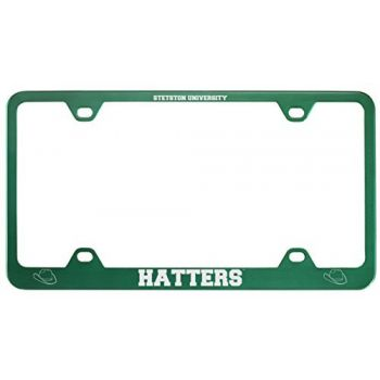 Stetson University -Metal License Plate Frame-Green