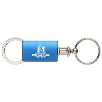Murray State University - Anodized Aluminum Valet Key Tag - Blue