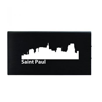 Quick Charge Portable Power Bank 8000 mAh - Saint Paul City Skyline