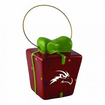 University of North Florida-3D Ceramic Gift Box Ornament