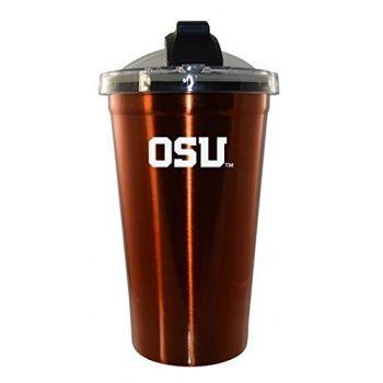 Oregon State University - Teardrop Keychain - Black