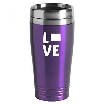 16 oz Stainless Steel Insulated Tumbler - Colorado Love - Colorado Love