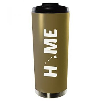 16 oz Vacuum Insulated Tumbler with Lid - Hawaii Home Themed - Hawaii Home Themed