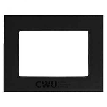 Central Washington University-Velour Picture Frame 4x6-Black
