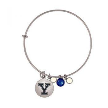 Yale University-Frankie Tyler Charmed Bracelet