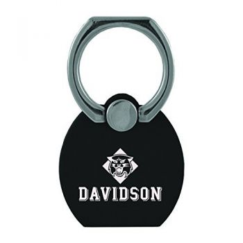 Davidson College|Multi-Functional Phone Stand Tech Ring|Black