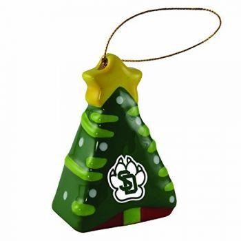 University of South Dakota -Christmas Tree Ornament