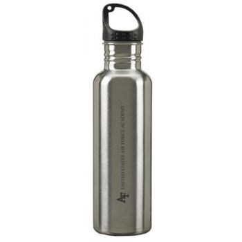 Air Force Falcons - 24-ounce Sport Water Bottle - Silver