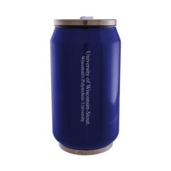 University of Wisconsin–Stout - Stainless Steel Tailgate Can - Blue