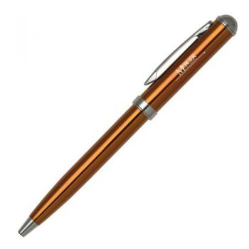 Mercer University - Click-Action Gel pen - Orange