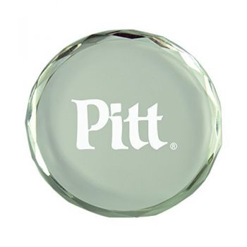 University of Pittsburgh-Crystal Paper Weight