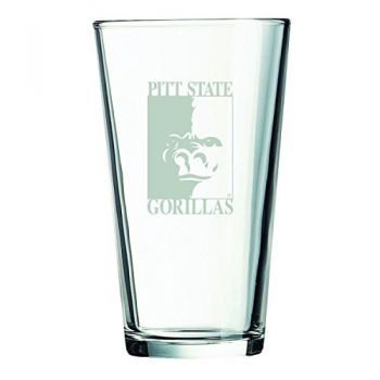 Pittsburg State University -16 oz. Pint Glass