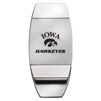 University of Iowa - Two-Toned Money Clip