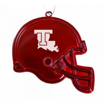 Louisiana Tech University - Christmas Holiday Football Helmet Ornament - Red