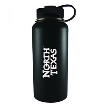 University of North Texas-32 oz. Travel Tumbler-Black