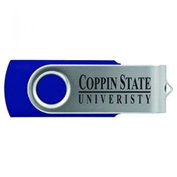 Coppin State University -8GB 2.0 USB Flash Drive-Blue