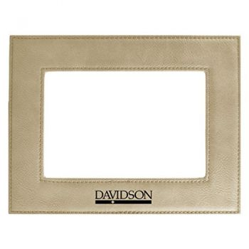 Davidson College-Velour Picture Frame 4x6-Tan