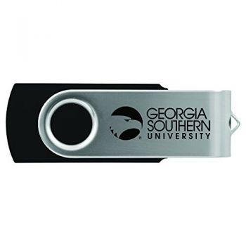 Georgia Southern University-8GB 2.0 USB Flash Drive-Black