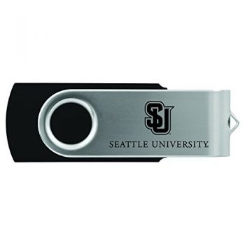 Seattle University -8GB 2.0 USB Flash Drive-Black