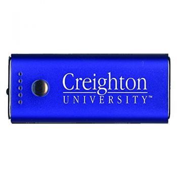 Creighton University -Portable Cell Phone 5200 mAh Power Bank Charger -Blue