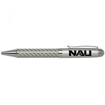 Northern Arizona University -Carbon Fiber Ballpoint Pen-Silver