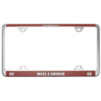 South Carolina State University -Metal License Plate Frame-Red