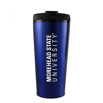 Morehead State University -16 oz. Travel Mug Tumbler-Blue