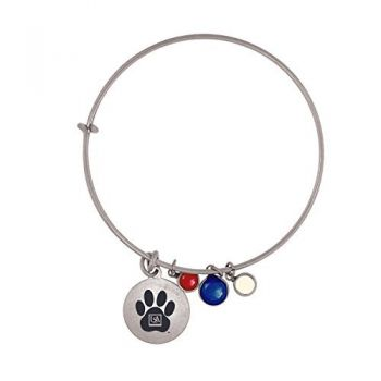 University of South Alabama-Frankie Tyler Charmed Bracelet