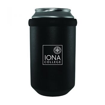 Iona College-Ultimate Tailgate Can Cooler-Black