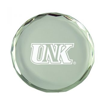 University of Nebraska at Kearney-Crystal Paper Weight