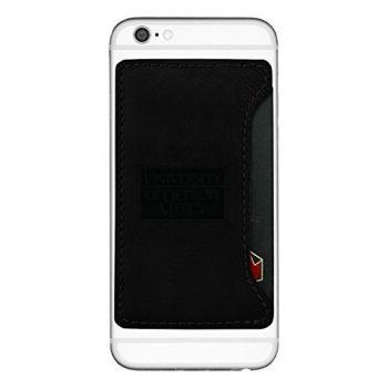 University of Detroit Mercy-Cell Phone Card Holder-Black