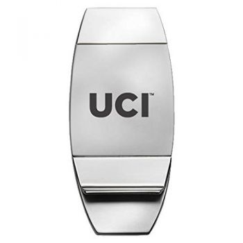 University of California - Irvine - Two-Toned Money Clip