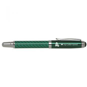 Carbon Fiber Rollerball Pen-I love my Cocker Spaniel-Green