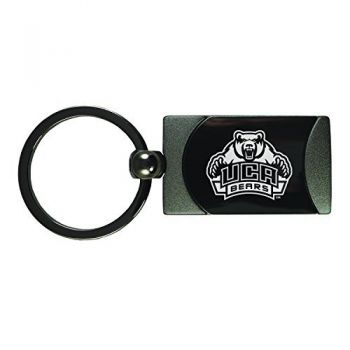 University of Central Arkansas-Two-Toned Gun Metal Key Tag-Gunmetal