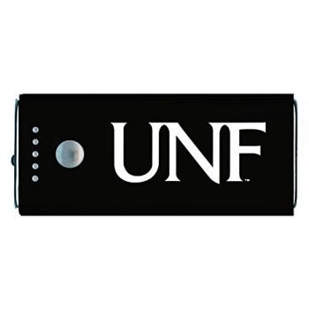 University of North Florida-Portable Cell Phone 5200 mAh Power Bank Charger -Black