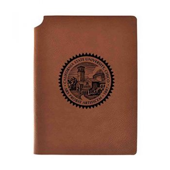 California State University, Chico Velour Journal with Pen Holder Carbon Etched Officially Licensed Collegiate Journal 