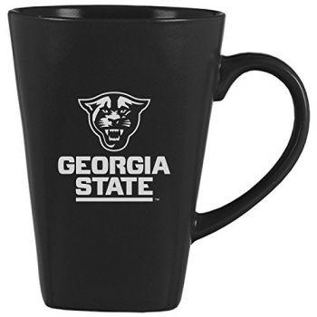 Georgia State University -14 oz. Ceramic Coffee Mug-Black