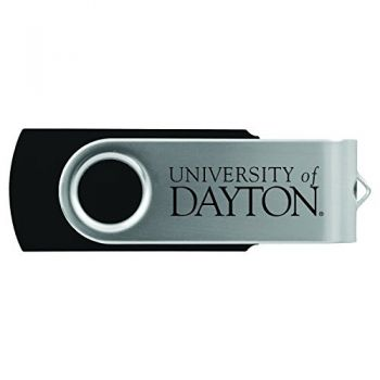 University of Dayton -8GB 2.0 USB Flash Drive-Black