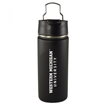 Western Michigan University-20 oz. Travel Tumbler-Black