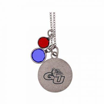 Gonzaga University-Frankie Tyler by LXG Charmed Necklace